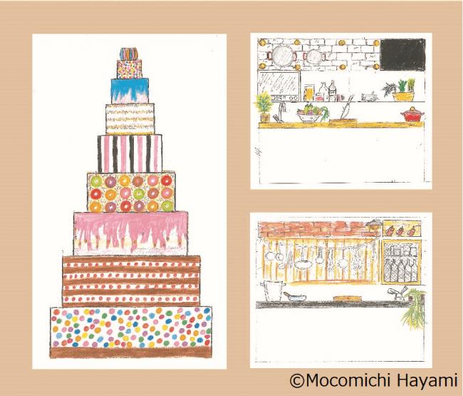 速水もこみちさん流の食の楽しみ方がつまった、記念ケーキやキッチンをご紹介します。