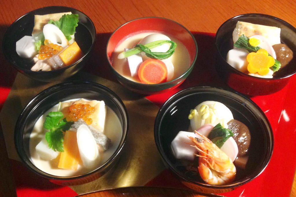 京料理「伊勢長」による「日本各地のご当雑煮」