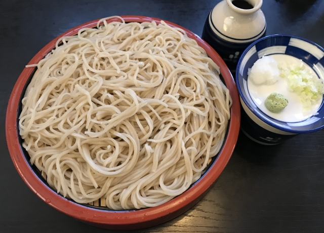 江戸料理といえば蕎麦