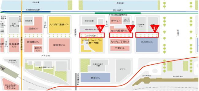 【実施場所】 実施場所については下記MAPの赤枠内になります。