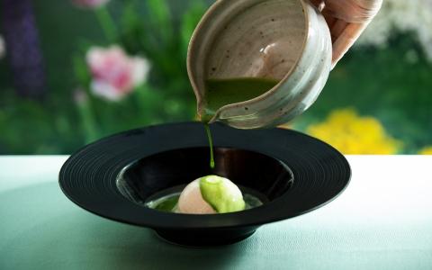抹茶のアフォガート